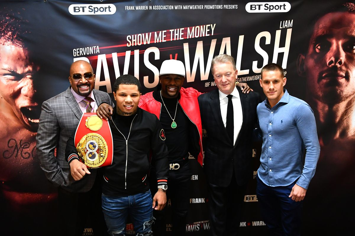 Gervonta Vs Liam Walsh